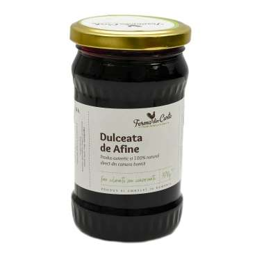 Dulceata naturala de Afine