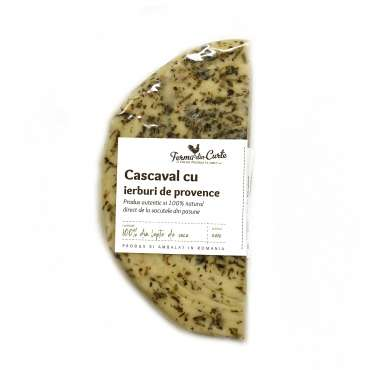 Cascaval natural cu ierburi de provence