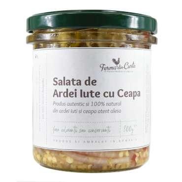 Salata de ardei iute cu ceapa